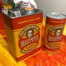 Maettu's Oil Cans – Birthday Present