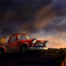 Outlaw – iPad Painting