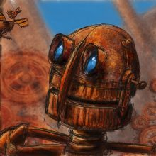 My Rusted Friends #2 – iPad Painting