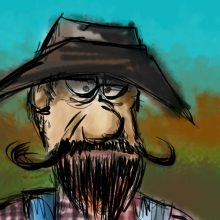 Gramps – iPad Painting