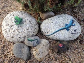 Acrylics on the Rocks