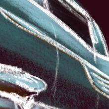 Car sketch 01 – iPad Painting